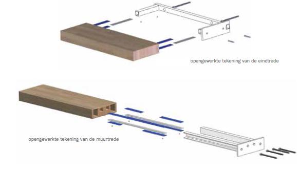 Zwevende Trap Kosten : Betaalbare mooie zwevende trap fontanot wall cm eiken