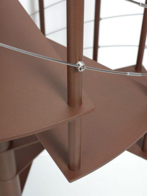 Slim Line, De modieuze zelfbouw Spiltrap Ø110 cm