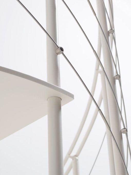 Slim Line, De modieuze zelfbouw Spiltrap Ø150 cm