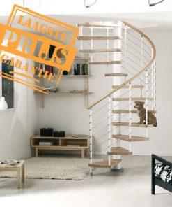 Goedkope instelbare zelfbouw wikkel trap, Arkè Kloè Ø160 cm