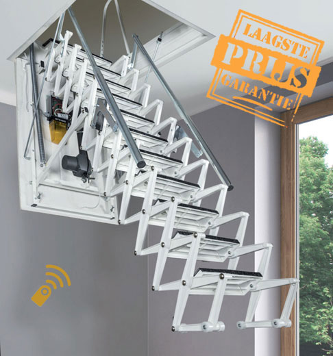 Elektrische vlieringtrap, Zooom Plus